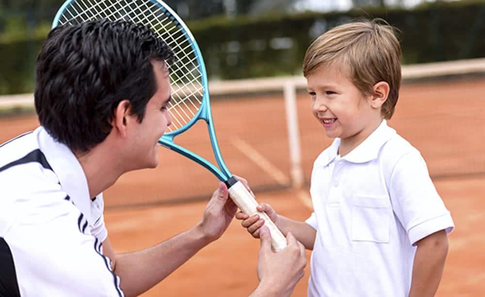 Corsi di tennis per bambini